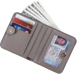 Lady petit portefeuille en cuir de pu bloquer RFID nouveau sac à main