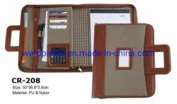Aktenkoffer aus PU-Leder mit Griffen, Padfolio/Portfolio