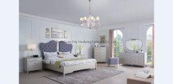 2020 Novo Design simples moderna casa de cama de casal Hotel quarto conjunto de móveis