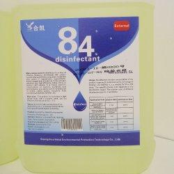 Домашних хозяйств 84 дезинфицирующее средство 5L хлора дезинфицирующее средство для дезинфекции воды в продаже под