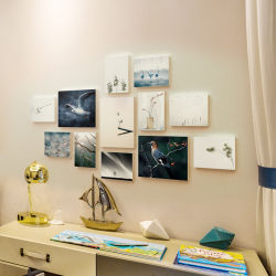 Wall Gallery Kit Printings and Paintings Hout Foto Frame
