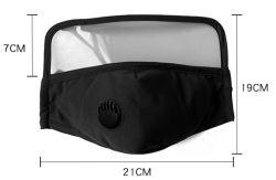 Adjustable Earloop Hook와 Loop Eye Protection Mask Eye Shield Fabric Cotton Reusable Face Mask를 가진 옥외 Riding Dust Mask