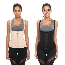 Comercio al por mayor Body Shaper cintura formador Control de la barriguita Zip Corset Chaleco de adelgazamiento