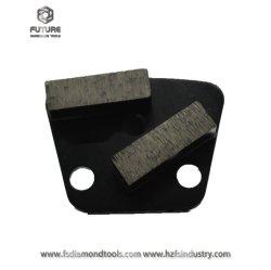 Трапецеидальный алмазные шлифовальные колодки бетонный пол Шлифовальные инструменты