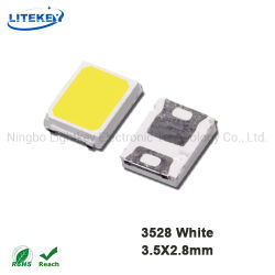 Светодиод для поверхностного монтажа 3528 белого цвета с RoHS уполномоченного эксперта Китай поставщика