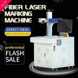 20W 30W 50W Teclado logotipo metálico CNC de impresión láser de fibra marcador para el procesamiento de material