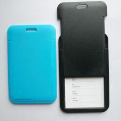 최신 판매 수직 PP 플라스틱 ID 카드 이름 기장 홀더
