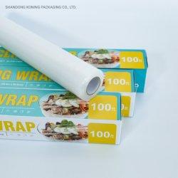 Конинг высокого качества универсальной без ПВХ Food Grade PE пластиковую пищевую пленку устройства обвязки сеткой термоусадочной пленки стретч