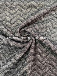 Жаккардовой вставкой ткань одежды из текстиля полимерная района спандекс полосой