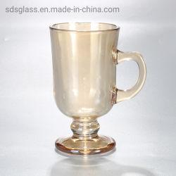 Новые продукты 2020 4 унции желтый стекло кружки для чая и кофе