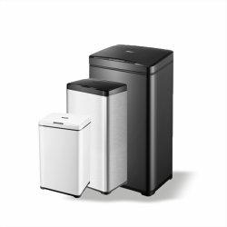 Abfall-Steckhülse mit 30/40/50 des Sortierfach-Bewegungs-Litern Fühler-, Touchless Abfall-Sortierfächer