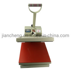 열 압박 기계 기계를 인쇄하는 수동 t-셔츠 열전달