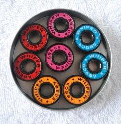 608zz 608 RSのスケートベアリングカスタム陶磁器のスケートボードのボールベアリング(ABEC-5、-7、-9、11)
