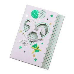 جميلة طفلة بطاقات مع تصميم جذّابة إلى جديك جميلة