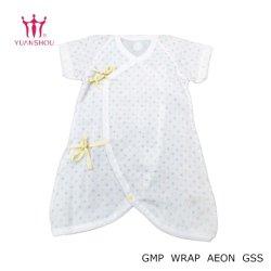 Mode personnalisé le coton enfant/jeune fille/kids/Boy/nourrisson/enfant Vêtement pour bébé avec des points de marque du groupe coloré