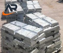 Lingote de zinc de alta pureza en el precio barato