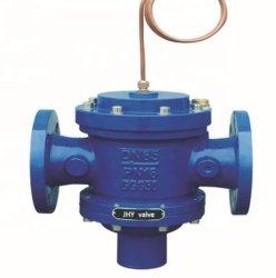 صمام متوازن للتحكم في الضغط التفاضلي ذاتي التشغيل
