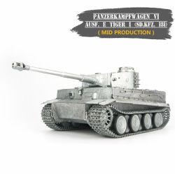 Tiger I (meados de Produção) Pintado Personalizado 1/16 RC+fumo do tanque tanque de captação+Som Toy