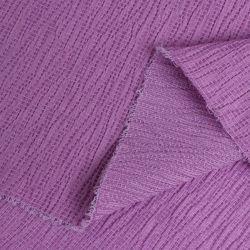Tecidos simples de casca de licra Crepe Chiffon Camisola de malha