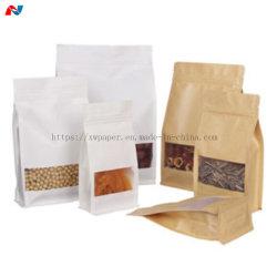 Papier kraft brun recyclé 70GSM Fournisseur en gros pour les sacs en papier