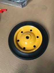 عجلة Soild مطاطية طبيعية مخصصة 3.50-8 /4.00-8 (13×3)
