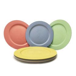ألواح بلاستيكية مصنوعة من ألياف فايرش مصنوعة من البلاستيك ذات جودة عالية مقاس 10 بوصات أطباق ذات خزانة ميكروويف