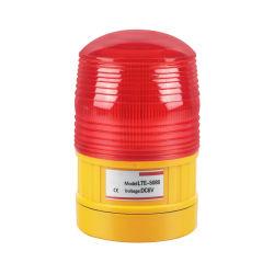 تركيب المغناطيس ضوء تحذير LED دوّار قابل لإعادة الشحن بقدرة 6 فولت