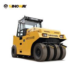 Kleine asfaltroller 10 ton mini-pneumatische rubberen bandroller Voor verdichting van asfalt