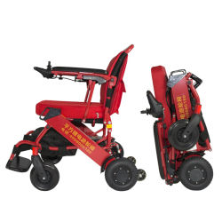 Potência portátil ultra leve de basquetebol de dobragem de Transferência Elétrica Mag Manual de rodas Cadeira de cadeira de rodas para deficientes Distabled com marcação CE