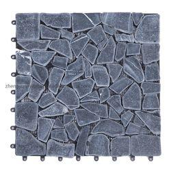 ナチュラルルックホームガーデンスレートデッキタイルストーンデッキタイル パイ To Stone DIY タイル