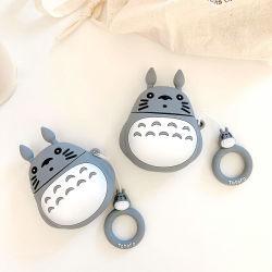 Venda por grosso de fábrica Cartoon Hayao Miyazaki meu vizinho Totoro Apple Caixa de armazenamento do fone de ouvido Bluetooth Shell Airpods Silicone