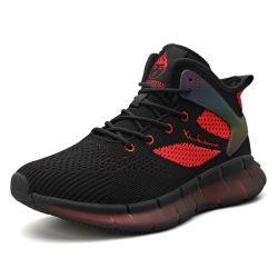 Оптовая торговля Hellosports заводе Custom мужчин 2020 Fashion Sneaker Pimps Дышащий Flyknit белого цвета, летевший в загорелся спортивный обувь мужчин зерноочистки
