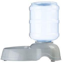 자동적인 중력 개 고양이 Waterer /Pet 물 분배기는 애완 동물을%s 고양이/개 물 사발 물 접시 /Automatic 물 사발을 미행한다