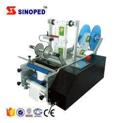 Halb automatischer runde Flaschen-Kennsatz-Drucken-Maschinen-Flaschen-Etikettierer