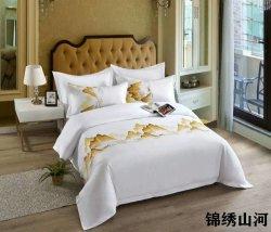 Shenone stellt preiswertes Kind-Kind-Luxus-Baumwollgroßhandelsblatt 100% Hotel-Bettwäsche von China ein