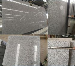 Polished 또는 타오른 회색 화강암 G603 석판 도와