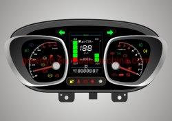 Combinaison de haute qualité d'affichage du tableau de bord Tableau de mètre pour la voiture électrique/E724