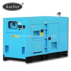 20kVA a 25kVA 30kVA a 40kVA a 50kVA a 60kVA 80kVA de potencia diesel silencioso generador eléctrico alimentado por grupo electrógeno Cummins Engine de protección de seguridad completa (KL40C)