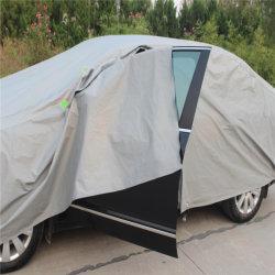 Custodia leggera impermeabile resistente ai raggi UV, design antivento, copertura per auto con zip Vano portaoggetti e lucchetto per esterni interni in tutte le condizioni atmosferiche 191-200 Pollici Sedan Car copre