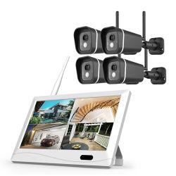 """طقم كاميرا Bullet Dome 4 بتقنية NVR بتقنية """"التوقع، الملاحظة، الشرح (POE)"""" الذكية ذات 4 نظام المراقبة CCTV"""