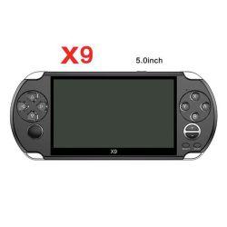 Saída para TV suporte coloque X9 Gba/Nes/PSP/SNF 5.0INCH consola de jogos portátil com tela grande