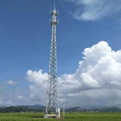 Las ventas de la fábrica de acero del tubo de una sola torre de telecomunicaciones