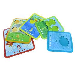 新しいカスタマイズされた印刷のおかしい子供の早い教育困惑のトランプのメモリ・カード