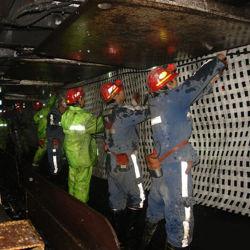 鉱業用高強度ポリエステルジオグリッド