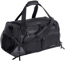 黒い防水スポーツ旅行体操のDuffle袋