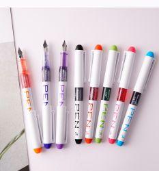 使い捨ての噴水のペンインクペンの滑らかな執筆分類された色のオフィス 供給
