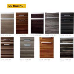 Armário me mobiliário personalizado acessórios de armário de cozinha de madeira Porta de armários de cozinha de PVC/porta de madeira MDF/cozinha sólido porta do gabinete