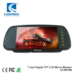 7인치 차량용 버스 트럭 TFT LCD 디스플레이 터치 스크린 패널 리어 뷰 미러 모니터