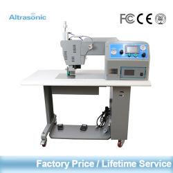 China Fabrik Preis Schnelle Lieferung Altrasonic 35 kHz Nahtloses Schneiden Und Abdichtung Ultraschall Nähmaschine mit Titanrad für Special Wasserdichte Materialien