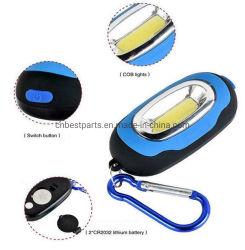Tragbare magnetische Schlüsselanhänger Taschenlampe COB LED-Lampe Für Camping